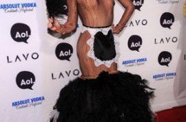 Heidi Klum gets it going on at Lavo.