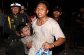 Hundreds perish in stampede in Cambodia.