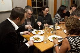 Time Out's New York's D.L.S Harvest Dinner, at Savoy