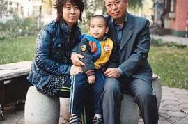 Father of 'toxic' child jailed for speaking out by Chinese authorities.