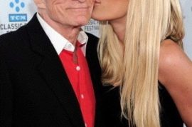 This year for Xmas Hugh Hefner wants you to know he ended up with a 24 year old bride to be.