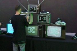 Art Basel Miami- DC Shoes and Primary Flight kick it.