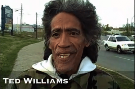 Is Ted Williams a homeless bum, the new radio voice of America?