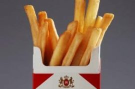 Anyone for some fries and a smoke?