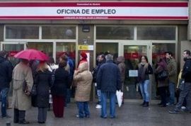 Spain's unemployment is the highest in the industrial world.