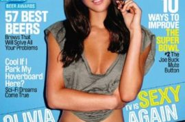 The world is not impressed with Olivia Munn's panty shot.
