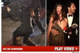 Did Paz de la Huerta really get stone drunk and flash her nipples at the Golden Globes?