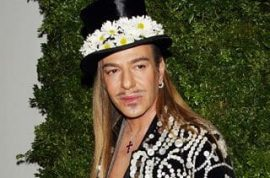 John Galliano suspended from Dior on allegations of anti semitic slur and assault.