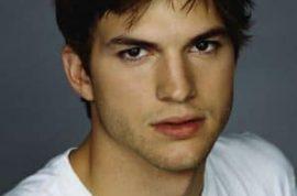 Ex president George Bush snubs Ashton Kutcher