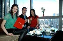 Launch for Vivienne Tam and Jack Dorsey's 'Double Happiness' Square