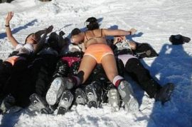 Oxford students are reprimanded after Varsity ski trip goes awol.
