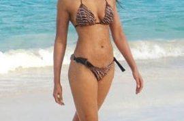 Are you ready to gawk at Padma Lakshmi's new bikini bod?