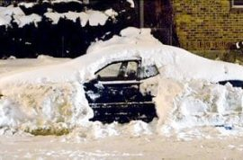 Man who kills himself found days later in car buried under snow.