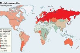 Time to figure out who are the world's heaviest alcohol consumers. A geography breakdown.