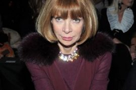 Anna Wintour would like to advise you if you are a commoner she will not ride the elevator with you