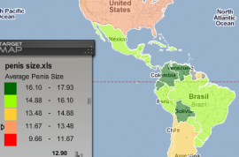 Isn't it time you found out where the biggest penises in the world exist?