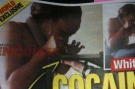 Bobbi Kristina- Whitney Houston's daughter busted snorting coke.