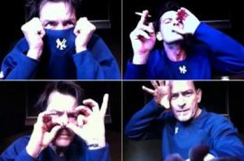 Charlie Sheen produces one more disturbing online rant: 'Apocalypse Me.'