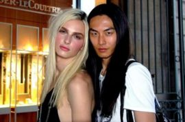 Male model David Chiang would walk for Victoria's Secret.