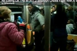 Did you get into a subway spaghetti brawl yesterday afternoon?