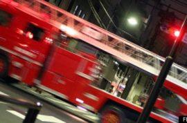Volunteer Firefighter, Accused Of Drunken Fire Truck Joyride