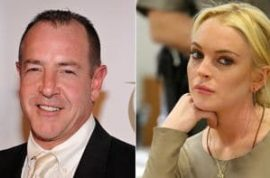 Michael Lohan will not tolerate his little girl dropping the Lohan bit