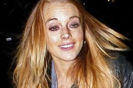 Lindsay Lohan just wants to party all the time.