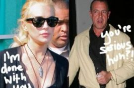 Lindsay Lohan disinherits her father (again) after he agrees to star in Celebrity Rehab.