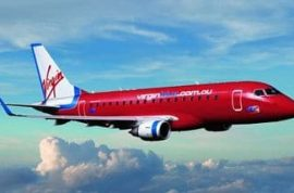 17 month old child is shut in overhead bin on a Virgins airline flight.