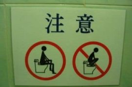 Are you mindful of your toilet manners?
