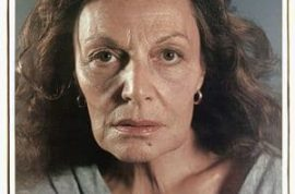 Chuck Close's portrait picture of Diane Von Furstenberg scares the bejesus out of us.