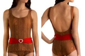 Is this the ugliest swimsuit ever?