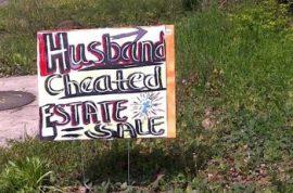 Husband Estate Cheated Sale.