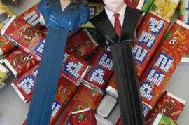 Have you started bidding on your William and Kate Pez sweet dispenser yet?