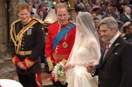 The Royal wedding and the media fairy tale spectacle.
