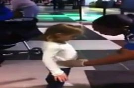 6 year old girl is given full TSA pat down then a drug test.