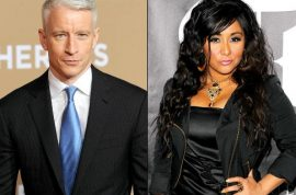 Anderson Cooper is appalled with Snooki.