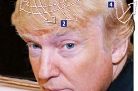 Donald Trump would like to teach you how to get Donald Trump hair.