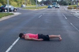 Acton Beale plunges to his death after taking up latest internet craze: planking.