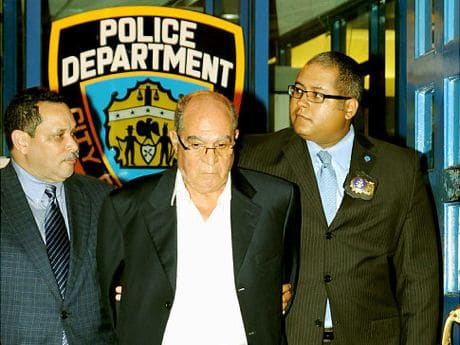 Image source- Ny Daily News. Mr Omar held in custody by the NYPD