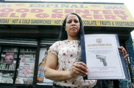 Luis Ducasse wants bodega owners to have the right to carry guns