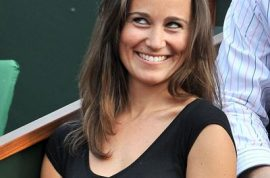 Pippa Middleton wants to let you know at this year's French Open she is where all the action is.