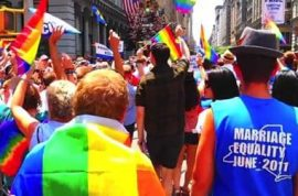 NYC Gay Pride Parade 2011. And how they rocked the streets. Video.