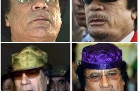 Colonel Gaddafi is set to release his own designer sunglass collection.