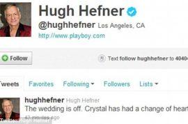 Why did Crystal Harris and Hugh Hefner really call off their wedding?
