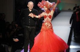 The invention of Jean Paul Gaultier. How he managed to become a fashion icon while you didn't…