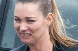 The physical disintegration of Kate Moss.