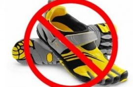 US Army bans toe shoes as fashion faux pas.