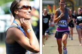 Pippa Middleton is now also a triathlete.