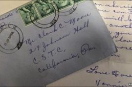Love letter posted in 1958 finally arrives 53 years later.